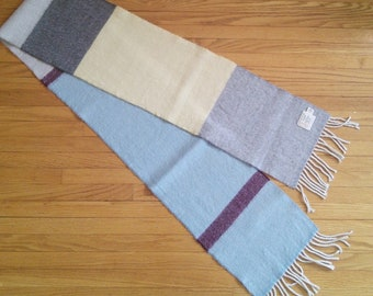 cb98f8b2c43 Avoca woven wool scarf with fringes