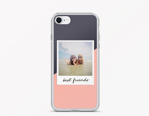 official photos 7b3c5 f5dda Custom Photo iPhone Case - Personalized Phone Case - Gifts for Friends -  Best Friend Phone Case - Gift for Teens - Cute iPhone Case