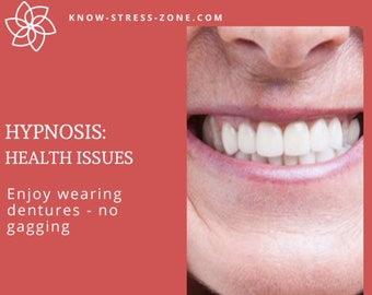 HYPNOSIS: HEALTH Enjoy Wearing DENTURES MP3; Binaural Beats; Mental Health; Self Care; Self Help; Meditation; Stress Relief; Self Hypnosis