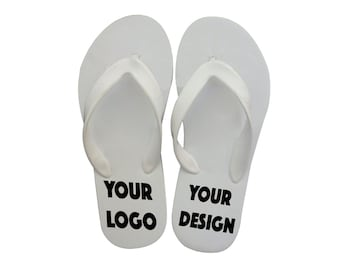 40 pairs - Personalized Flip-flops for Party Guests - Wedding 982ceb71b