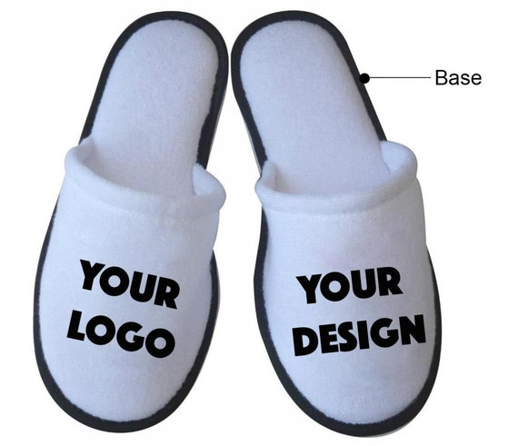 Personalized Wedding Slippers Bridal Party Slippers: 40 Pairs Personalized Slippers For Party Guests Wedding