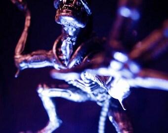 ALIENS - Alien mounted on rock base.