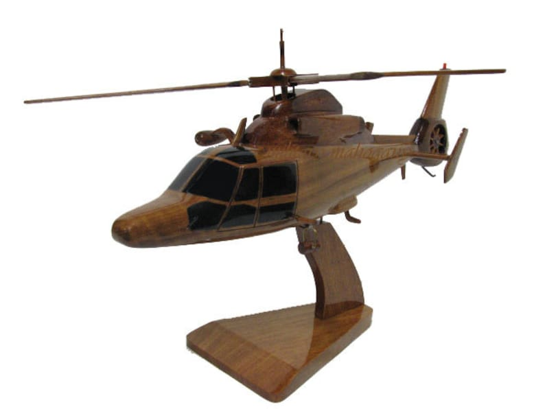 HH-60 Jayhawk USCG Helicopter Wood Display Model New