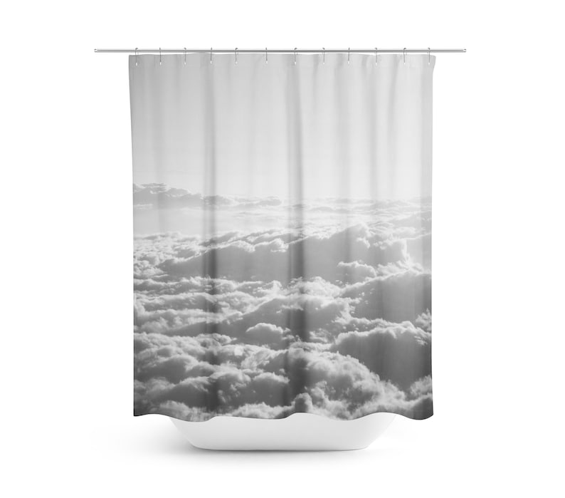 Sky Shower Curtain Clouds Photo