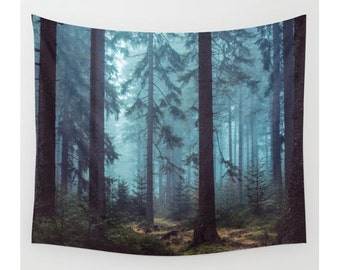 Tree Tapestry, Forest Tapestry, Trees Wall Tapestry, Wall Hanging, Boho Tapestry, Nature, Large Size Wall Art, Photo Tapestry,Woods Tapestry
