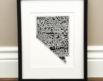 Elko | Etsy Print Small Maps Of Elko Nevada on reno nevada to elko nevada, visit elko nevada, red lion casino elko nevada, colleges in elko nevada, google earth elko nevada,