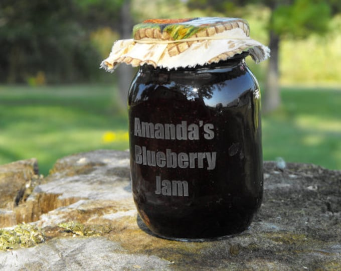Mason Jar Fabric Lid toppers - Add to your mason jar order