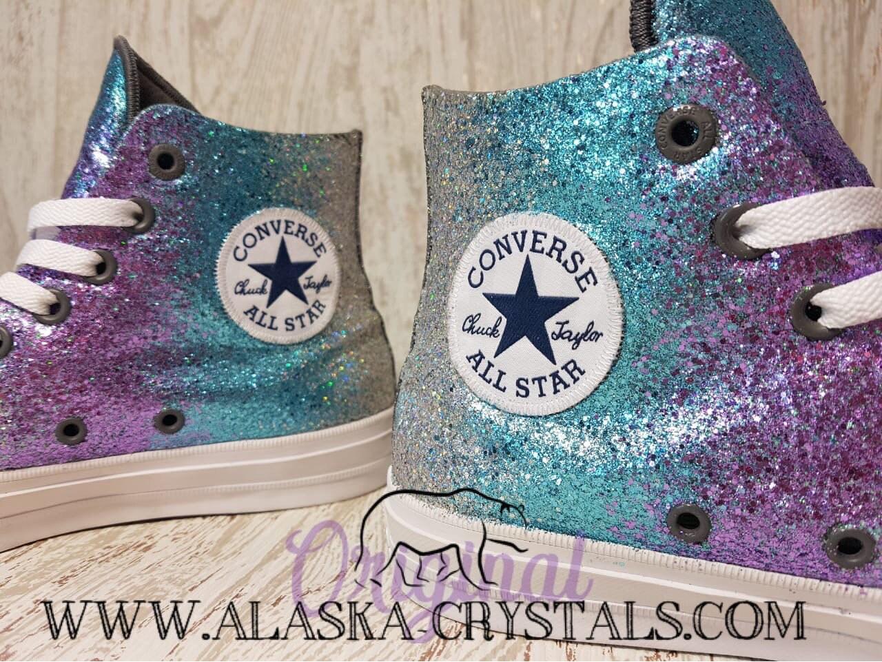 79c2e9990794 Glitter Ombré Converse