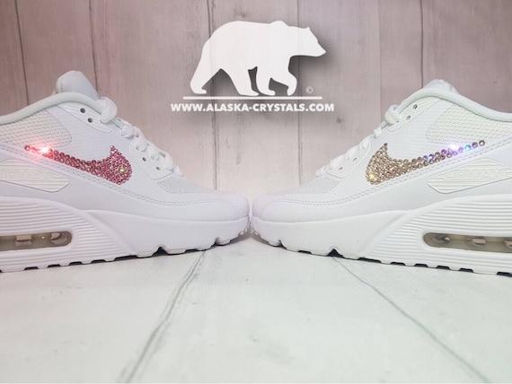 Custom Nike Airmax Sneakers Mens And Womens Wedding trainers  3d1614213