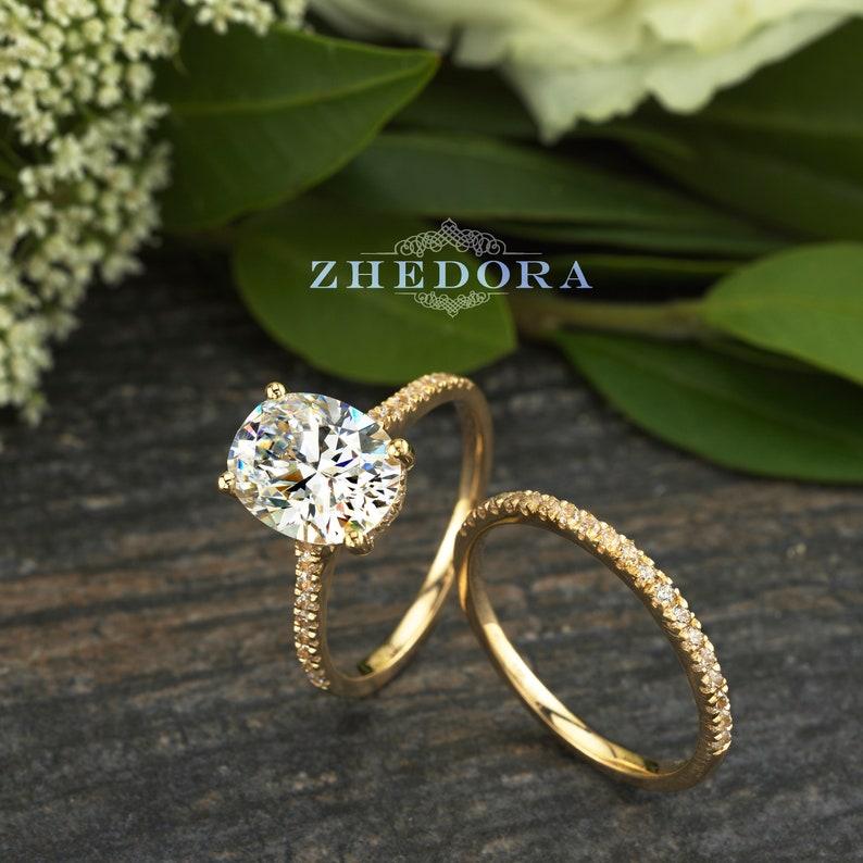 8 Prong 5.25 Carat Halo Diamond Ring Women Estate Radiant 14 Karat Yellow Gold Great Varieties Diamond Jewelry & Watches