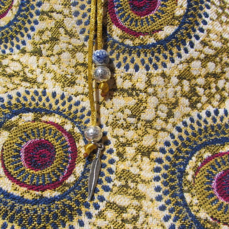 4a78841c43 Cabas ethnique sac tissu jacquard jaune totebag imprimé | Etsy