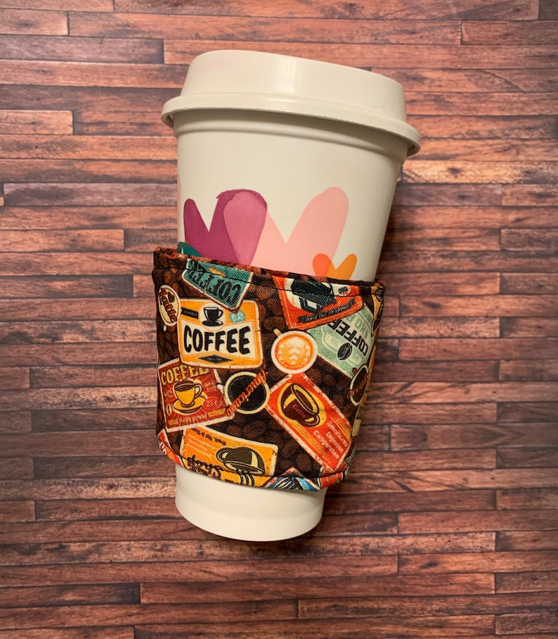 Coffee Fabric Cup Cozy