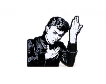 Lapel Pin Music Pin Hat Pin Cool Pin Festival Pin Enamel Pin The David Bowie Stardust Pin Pin David Bowie Pin Meme Pin Funny Pin