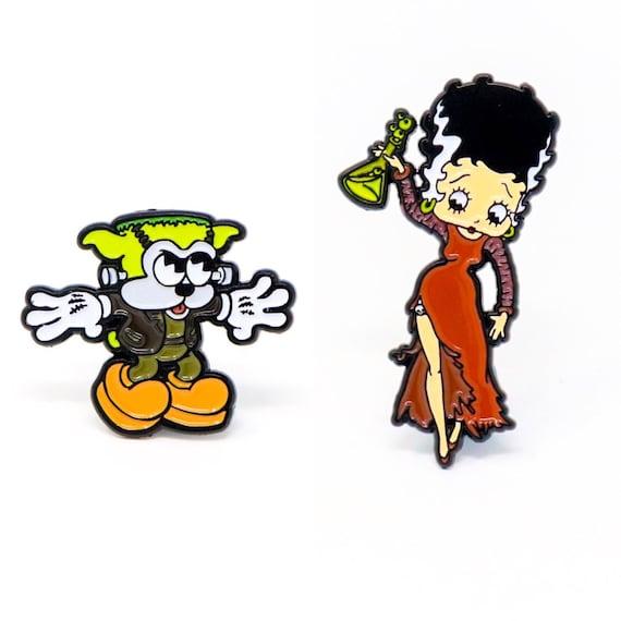 Betty Boop Halloween Earrings