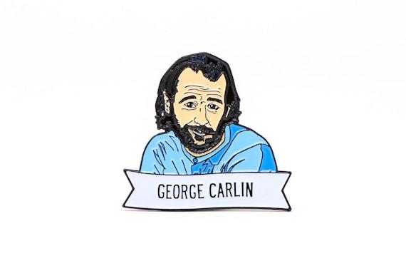George Carlin Impresión de Arte Foto Poster Regalo
