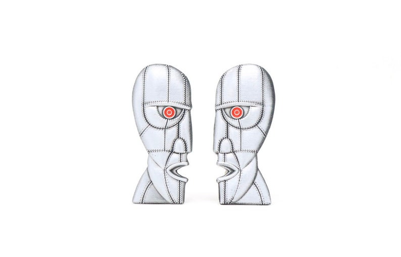 The Division Bell 3D Enamel Pins Pink Floyd