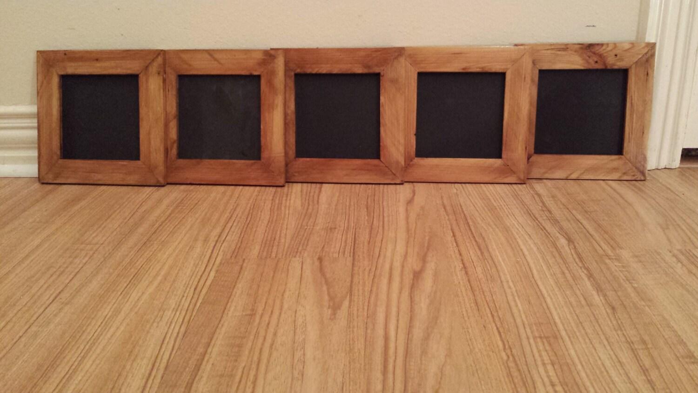Platz Tafel mit Rahmen / kleine Tafel / Holz Tafel / rustikale
