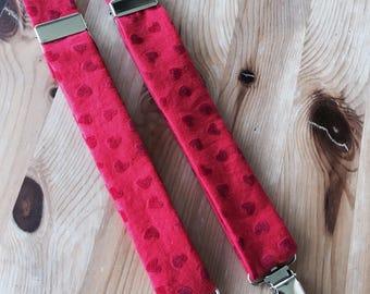6e276b57f35 Red Hearts Suspenders