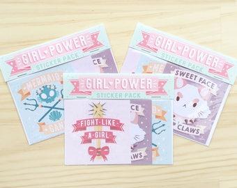 Girl Power - Sticker Pack