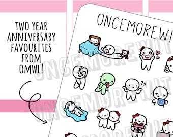 Munchkins -  OnceMoreWithLove Year Two Favourites Mixed Munchkin Sampler Sheet (M350)