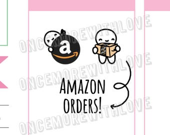 Munchkins - A to Z Online Order Tracker Planner Stickers (M335)