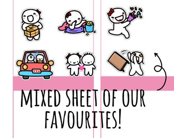 Munchkins - OnceMoreWithLove Year One Favourites Mixed Munchkin Sampler Sheet (M222)