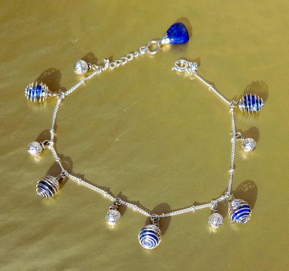 Pendentif Cage Perle Rhodonite