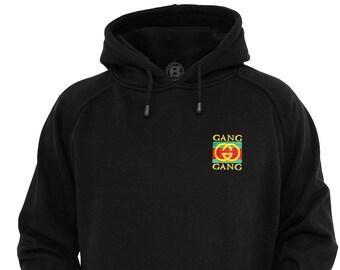 af308ae0 Lil Pump G Gang Embroidered Logo Hoodie / Hoody Lit Hip Hop Trap Music Lil  Uzi Vert