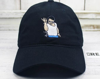 e24f070d51e SALT BAE Meme Dad Hat Curved Bill Baseball Cap 100% Cotton Emoji Steak Salt  Style