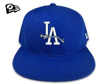 85a7d93047c LA DJ 3D Raised Embroidered Tonearm SnapBack Hat Turntablist Music Producer  Technics