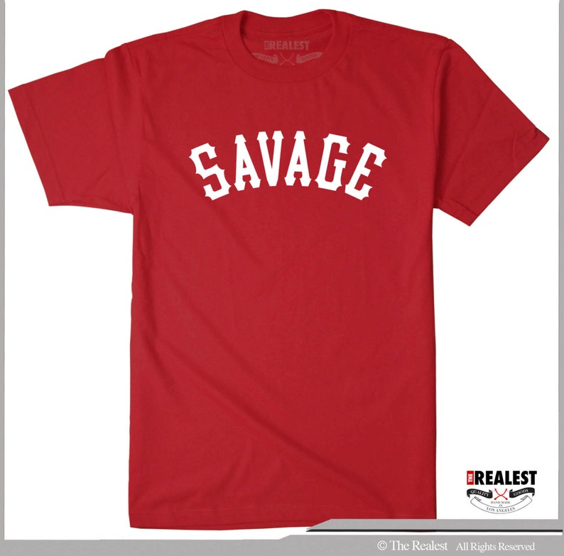 SAVAGE UNIVERSITY Crewneck Sweatshirt Savage Life Lit Hip Hop 21 Savage