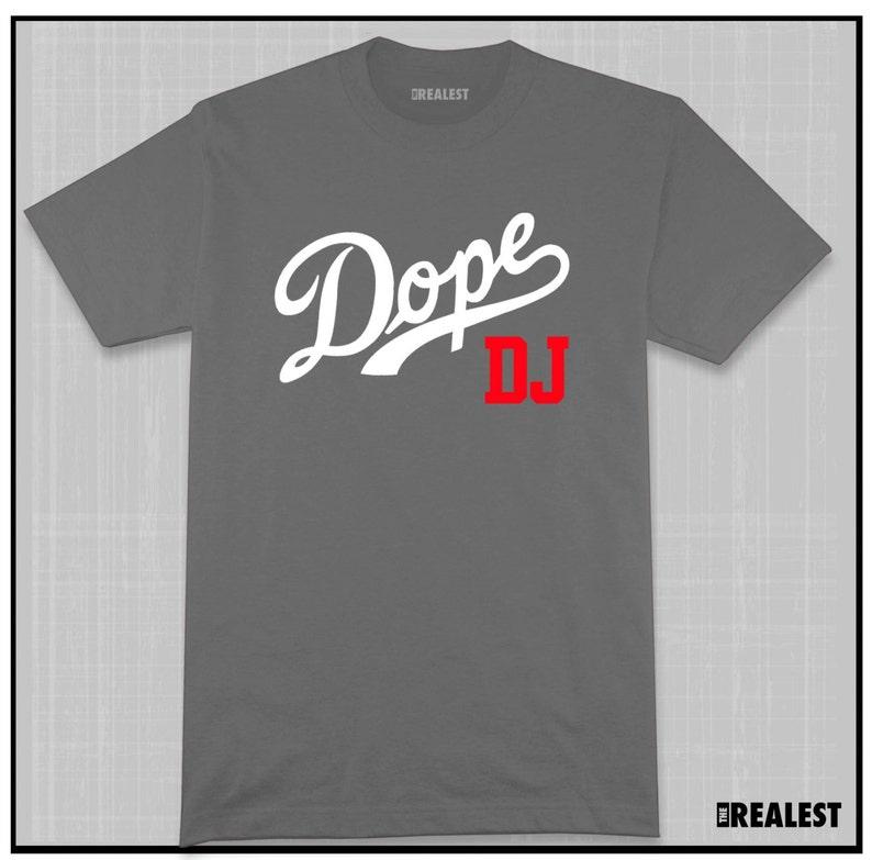 26aad05b43c52 DOPE DJ T Shirt Classic Hip Hop