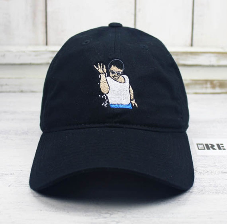 b2e34a490dc SALT BAE Meme Dad Hat Curved Bill Baseball Cap 100% Cotton