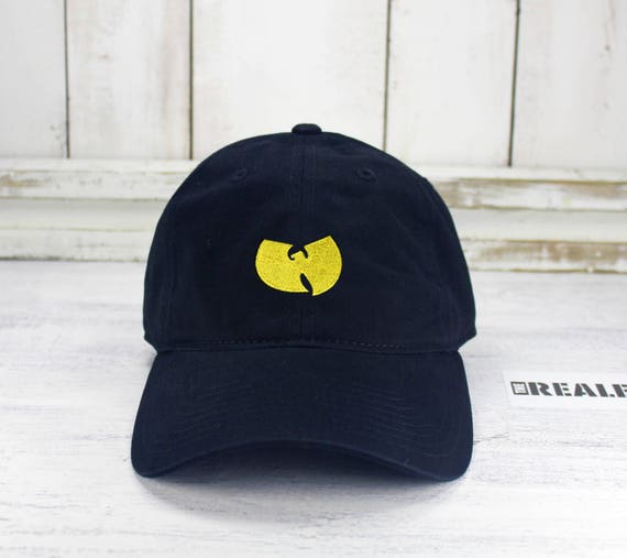 Wu Tang Logo Dad Hat Embroidered Baseball Cap Curved Bill Dad  fb8c021b377