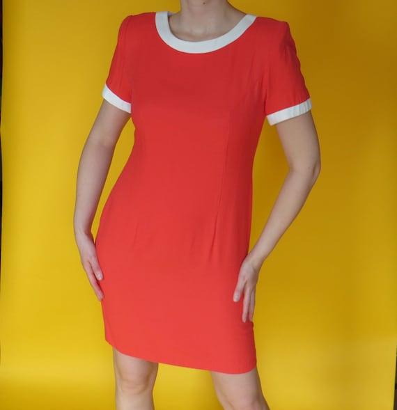 1980s Vintage Micro Mini Dress