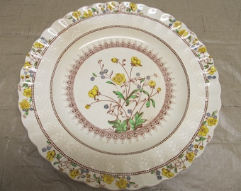 Spode Buttercup Older Mark Luncheon Plate Plates 9 Inch