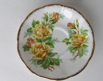 Royal Albert Tea Rose - 839056 - Bone China Saucer Made in England
