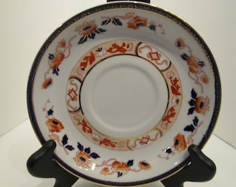 Nikko - hand painted saucer looking for a cup mate!