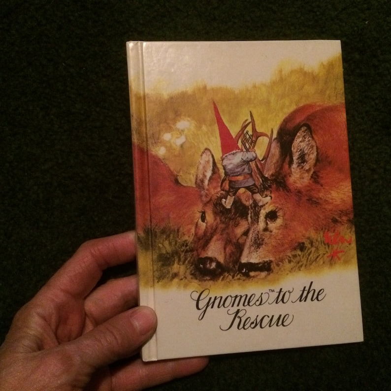 Gnomes to the Rescue by Rien Poortvliet and Wil Huygen [1982] FREE SHIPPING  :)