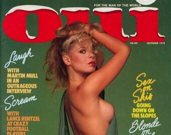 Oui Vol 7 N 12 December 1978 Near MINT Mature