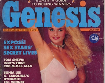 Genesis Magazine July 1987 Very Good Mature
