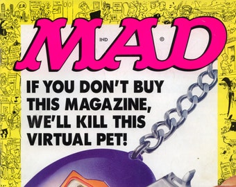 Mad Magazine NO 362 October 1997 VG+