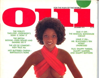 Oui Magazine December 1974 Near Mint condition Mature