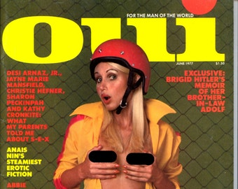 Oui Magazine June 1977 Near Mint condition Mature