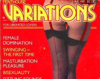 Penthouse Variations Digest Magazine June 1981 Very Good Condition Mature