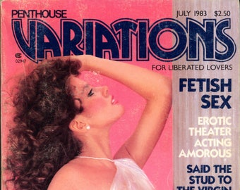 Penthouse Variations Digest Magazine July 1983 Good Condition Mature