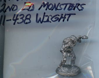 Ral Partha 11-438 Advanced Dungeons and Dragons Monsters Wright Lead Miniature