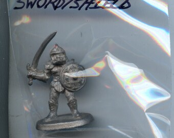 Ral Partha 11-446 Advanced Dungeons and Dragons Monsters Hobgoblin with Sword Shield Lead Miniature