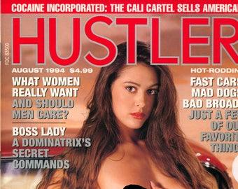 Hustler Magazine August 1994 Very Good condition Mature