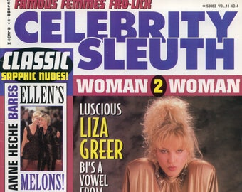 Celebrity Sleuth Magazine V11 N4 1998 Excellent condition Mature